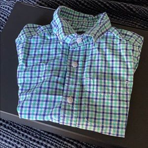 Children's Place Boys Short Sleeve Button Down